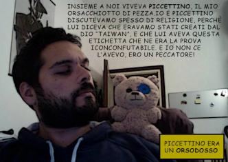 """La vignetta presa in """"prestito"""" dal Fumetto di Leo Ortolani"""
