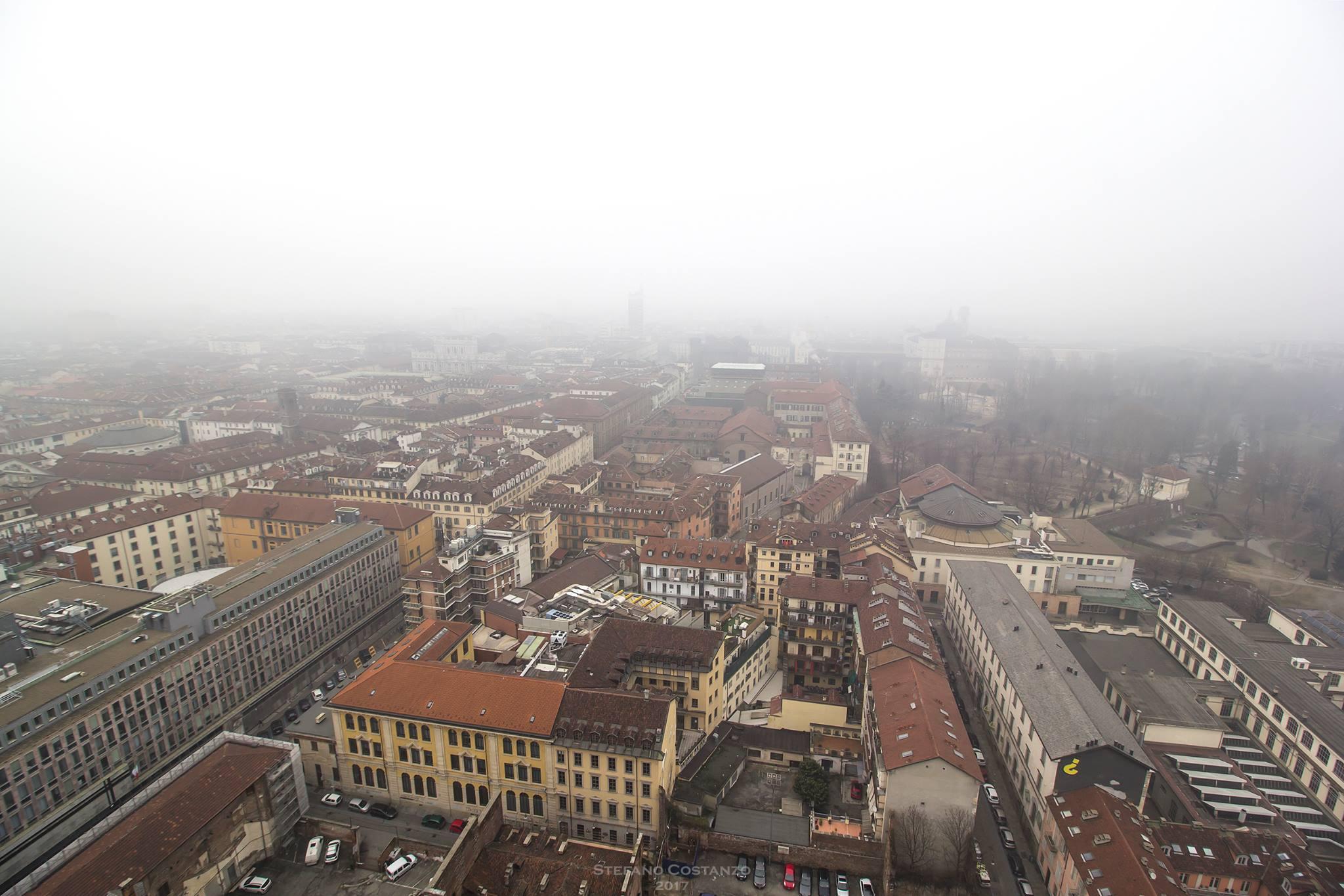Torino nella nebbia